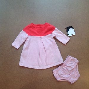 Gap color block dress 0-3m
